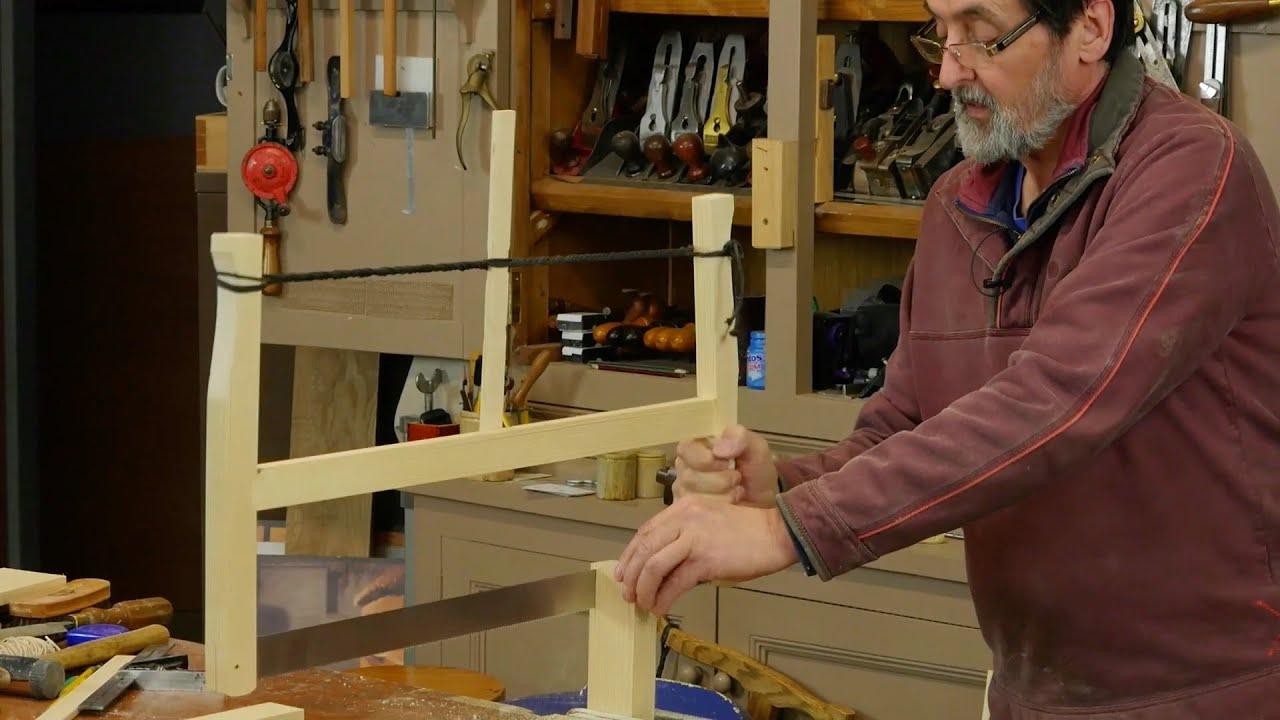 Making the frame saw paul sellers youtube jeuxipadfo Choice Image