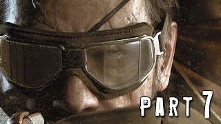 Metal Gear Solid 5 Phantom Pain Walkthrough Gameplay Part 7 - Over the Fence (MGS5)