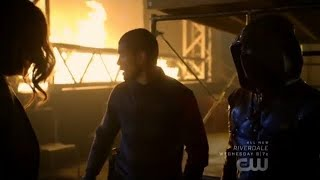 Arrow 7x04 Dinah and Rene help the New Green Arrow (HD)