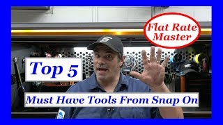 Top 5 Must Have Tools From Snap On