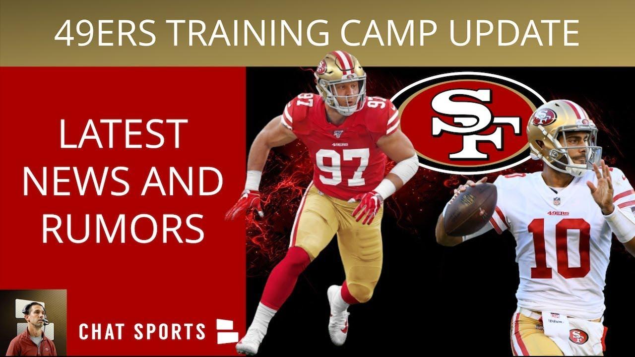 05623b16 49ers Training Camp News On Nick Bosa, Jalen Hurd Starting Fights & Is  Jimmy Garoppolo Struggling?