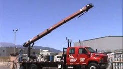 Sold! 2004 GMC C6500 Flatbed Roofing Conveyor Truck 31' Cleasby bidadoo.com
