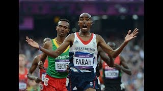Mo Farah misses out on fifth consecutive distance double , Live