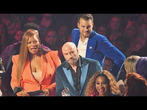 John Travolta Finally Explains His Taylor Swift Mix-Up With 'Drag Race' Alum At VMAs