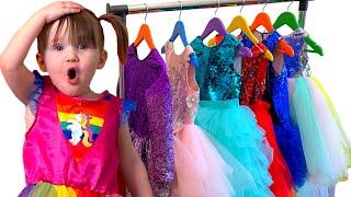 Пять детей. Новое платье как у принцессы Эльзы