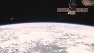 Стыковка грузового корабля «Прогресс МС-06» с МКС 16.06.17