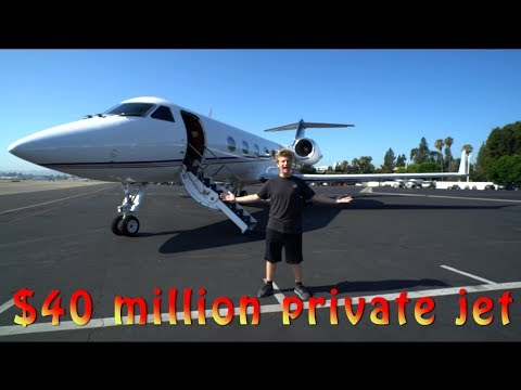 40 MILLION DOLLAR PRIVATE JET