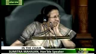 Excellent Speech by Sugata Bose on JNU Row in the Lok Sabha !!