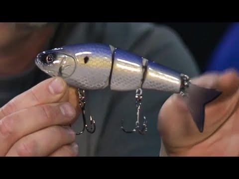 Ultra REALISTIC Glide Baits For Bass Fishing - Tater Hog Custom Lures