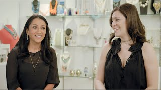 Amy Jain and Daniella Yacobovsky, Co-Founders of BaubleBar  | Dynamic Dialogues