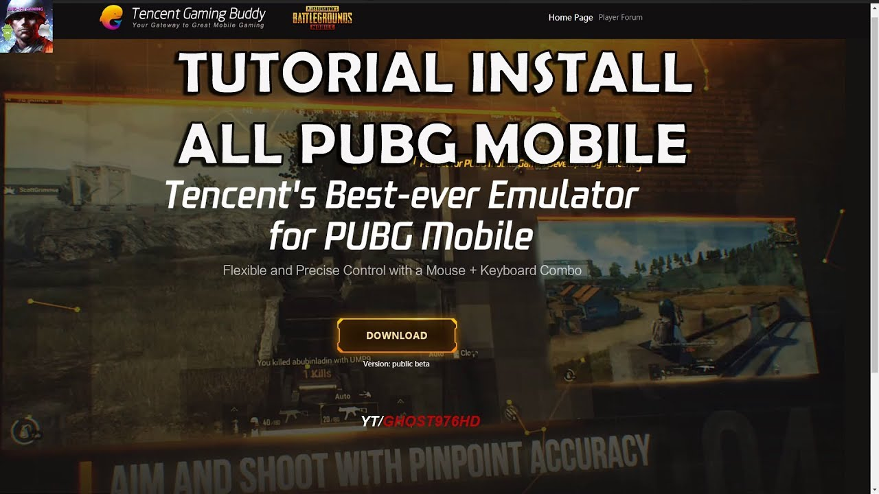 Pubg Mobile Ultra Hd Tencent Gaming Buddy