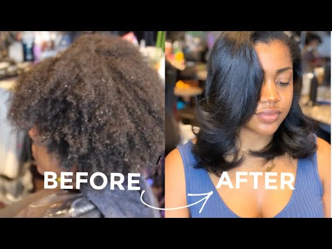 |silk-press-&-trim-on-type-4-thick-hair-[2nd-time-@-salon-in-her-entire-life]|-hellobeautifulhair_