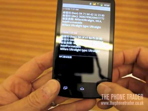 NFC Super Slim Smartphone Demo