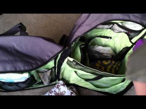 Okkatots Travel Diaper Bag Backpack Tour