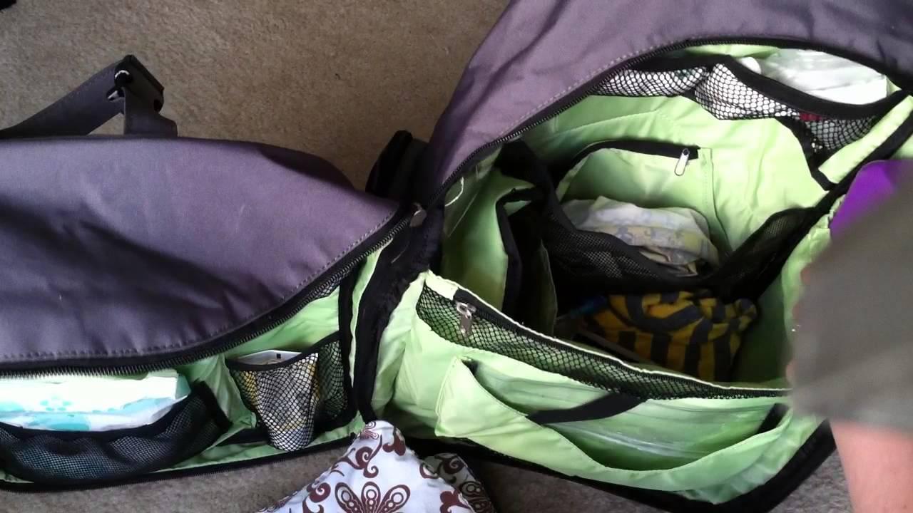 Okkatots Travel Diaper Bag Backpack Tour