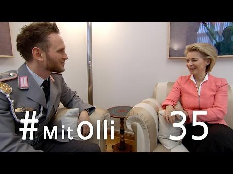 Mit Olli bei der Bundesministerin der Verteidigung – Ein Tag mit Ursula von der Leyen - Bundeswehr