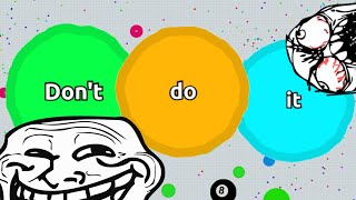 "AGARIO TROLLING IN TEAMMODE // ""Don"