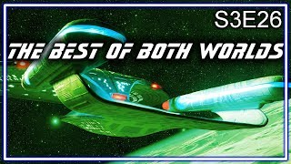Star Trek The Next Generation Ruminations S3E26: The Best Of Both Worlds
