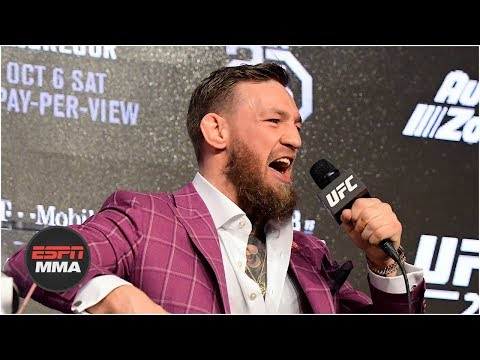 [FULL] Conor McGregor vs Khabib Nurmagomedov press conferenc