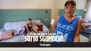 """Occupazioni abusive, la paura delle famiglie a Roma: """"Se ci buttano fuori dove andremo a vivere?"""""""