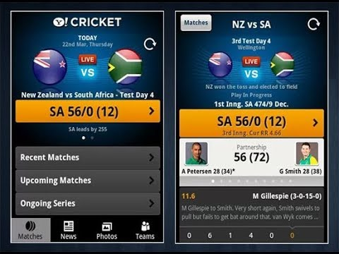 Cricket live score api android studio tutorial