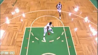 Throwback: Rondo-Wilcox connection on four fastbreaks against the Bulls (02/12/2012)