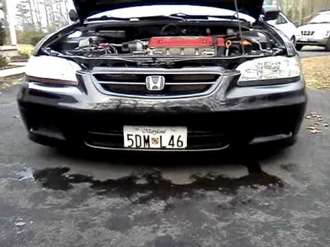 H22 Euro R Sixth Gen Accord Coupe Jdm Youtube