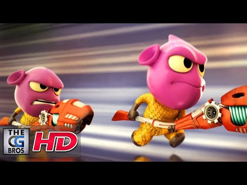 """CGI 3D Animated Short: """"The Gebonions: Episode 1""""  - by  Aju Mohan"""