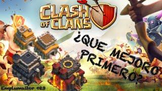 Emplumaitor 023 - ¿Qué mejoro primero? - Sucos Clash of Clans
