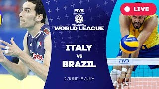 Download Video Italy v Brazil - Group 1: 2017 FIVB Volleyball World League MP3 3GP MP4