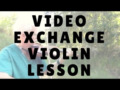 Video Exchange with my Online Violin Student Blair