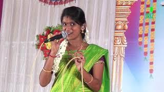 Machan machan | rajalakshmi Senthil ganesh | tamil Folk Song | nattupura padal | Iriz Vision