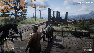 Red Dead Redemption 2 All Settings Optimal Settings GTX 1060 6GB I7 8700k 1080p
