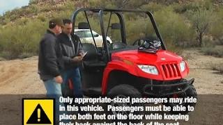 Toro Off-road Utv Safety Video