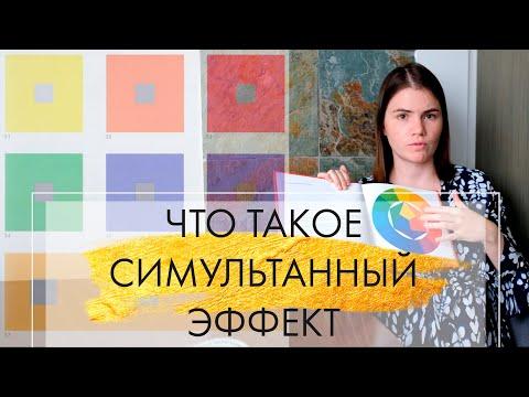 3. Что такое симультанный эффект   Цвет в интерьере