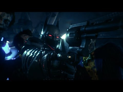 Batman: Arkham Knight (PC)(Batman Beyond Walkthrough)[Part 8] - Stagg Airships [1080p60fps]