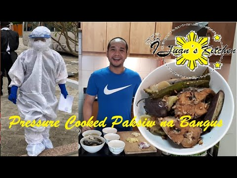 Pressure Cooked Paksiw Na Bangus | Cooking For My Frontliner Wife | Milk Fish Paksiw | Paksiw