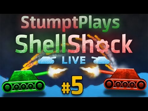 Shellshock Live - #5 - Every Stump for Themselves!! (4 Player Gameplay)