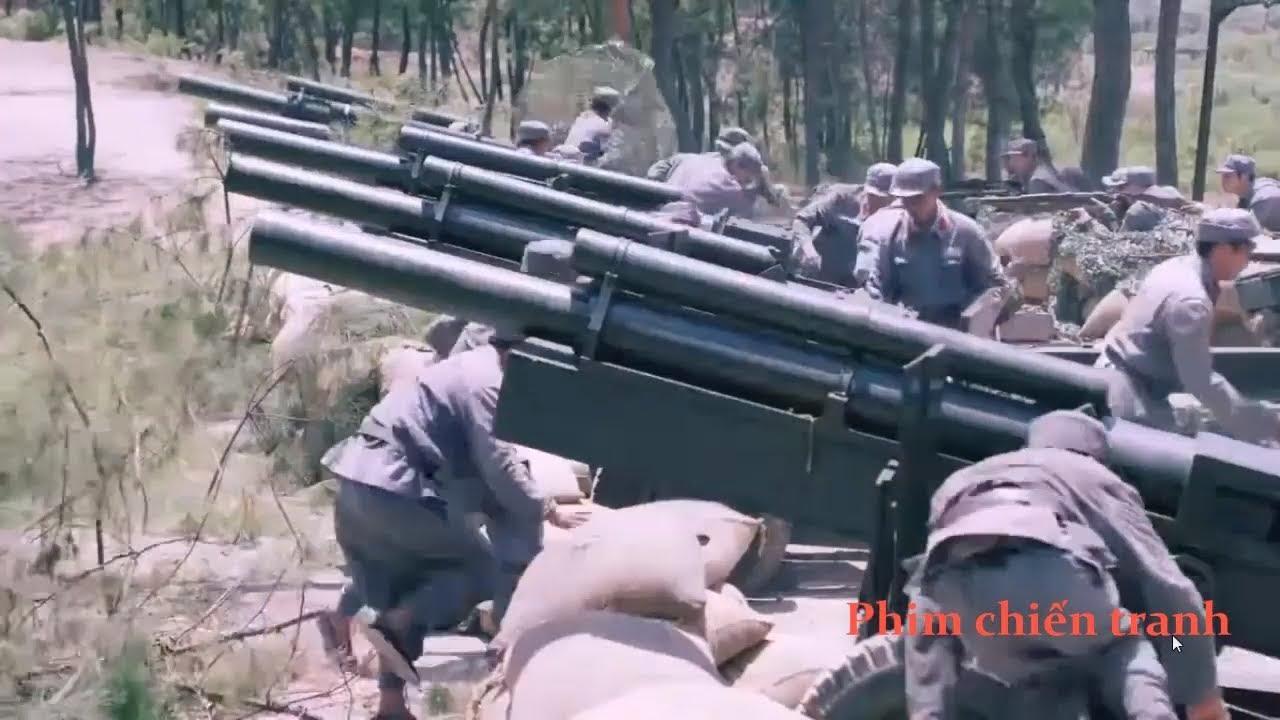 Phim chiến tranh : Quân nhật bản khinh thường đại pháo trung quốc và cái kết