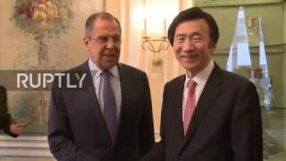 Germany  'You are very popular here' South Korean FM tells Lavrov at MSC