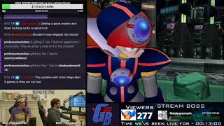 Mega Man X7 Single-Stream Playthrough (and X Challenge Modes)