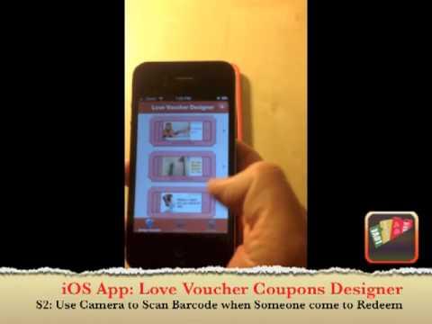 iOS App: Love Voucher Coupons Designer