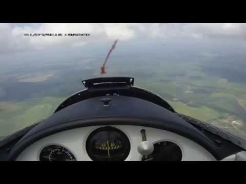 Полет на планере Л 13 Бланик