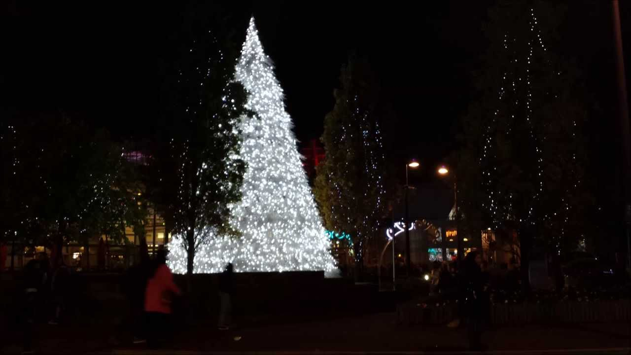 Bluewater Christmas Tree & Fireworks. - YouTube