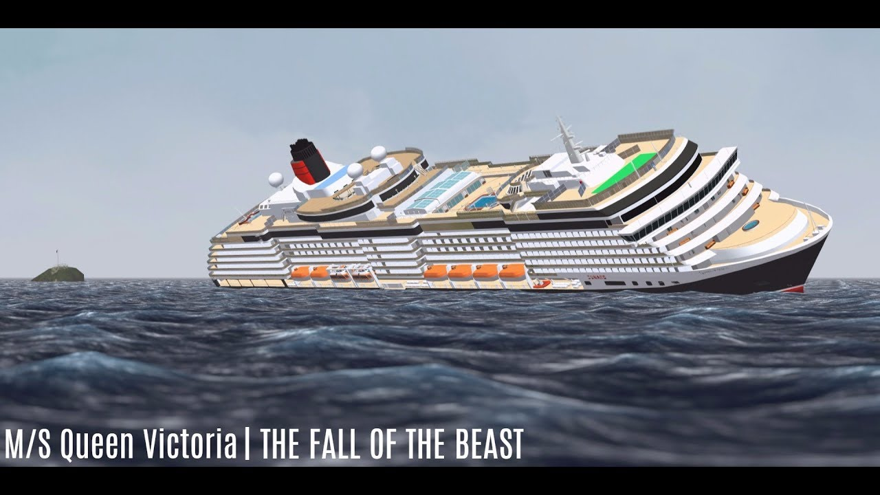 MS Queen Victoria The Fall Of The Beast YouTube - Tracking queen victoria cruise ship