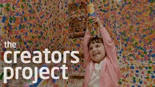 Kids Critique: Yayoi Kusama's 'Give Me Love'
