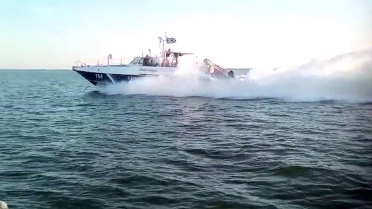 На Украине пожаловались на российских пограничников в Азовском море