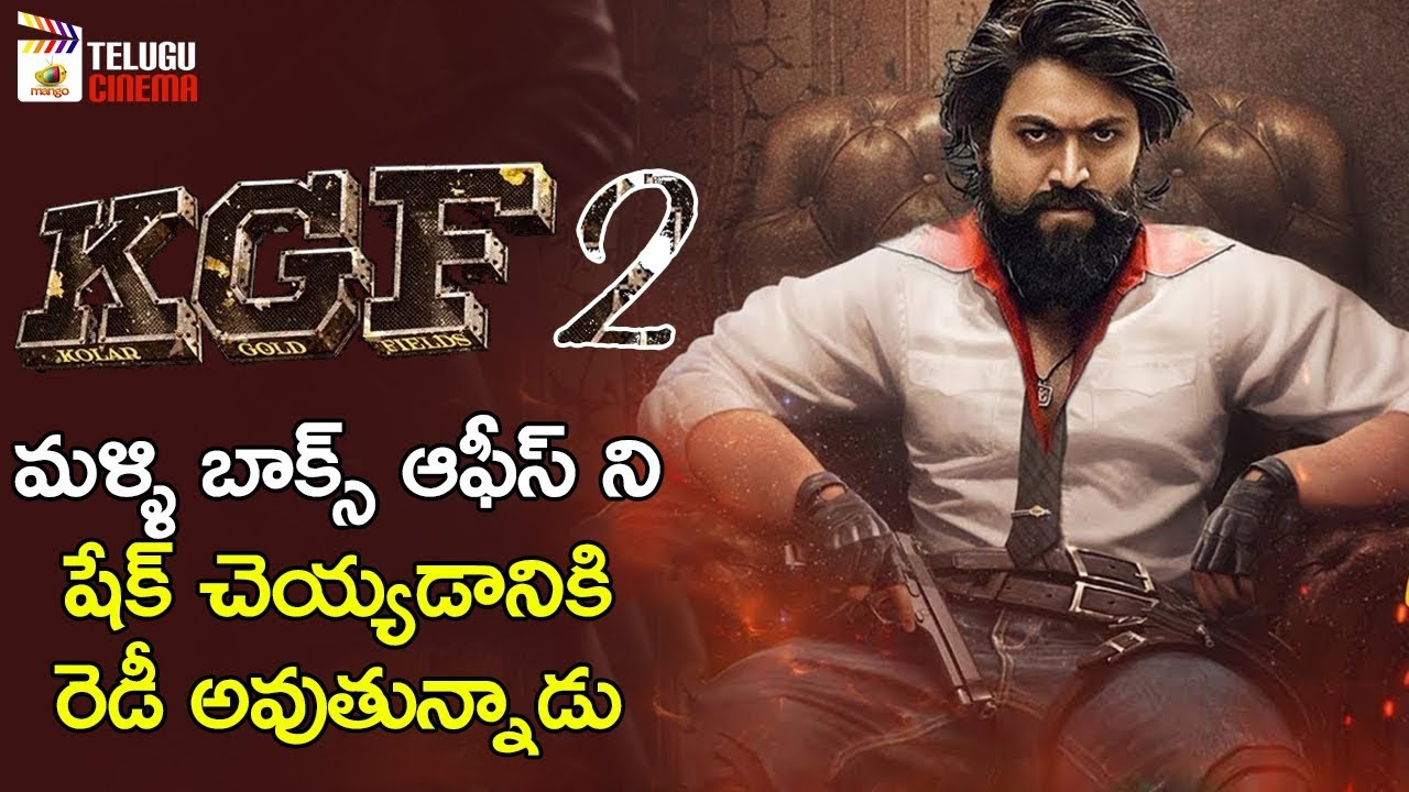 Kgf Chapter 2 Movie Shooting Update Yash Srinidhi Shetty Prashanth Neel Mango Telugu Cinema Youtube