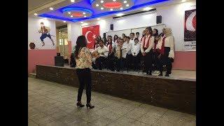 Midyat'ta Minik Öğrenciler 4 Dilde Konser Verdi