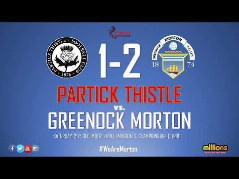 Match Highlights | Partick Thistle 1-2 Morton (29 Dec 2018)